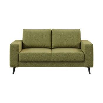 Canapea Ghado Fynn, 168 cm, verde măslină imagine