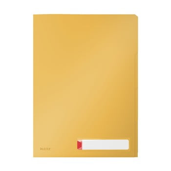 Mapă de birou cu sortare Leitz Cosy, A4, galben bonami.ro