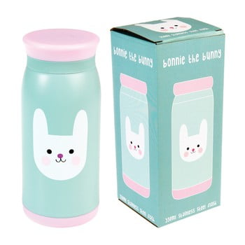 Sticlă din inox Rex London Bonnie the Bunny, 350 ml poza bonami.ro