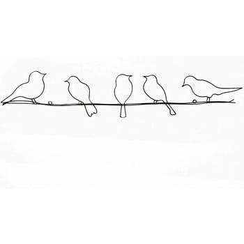 Decorațiune de perete Graham & Brown Bird On Wire poza bonami.ro