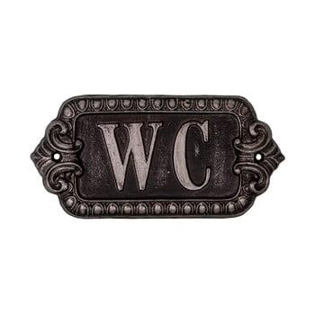 Simbol metalic pentru toaletă Antic Line Plaque,lungime 17,5cm bonami.ro