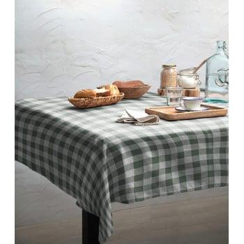 Față de masă Linen Couture Green Vichy, 140 x 140 cm bonami.ro