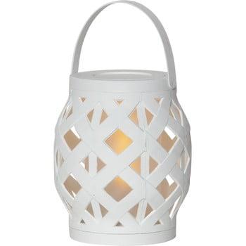 Felinar Best Season Flame Lantern, 14 x 16 cm, alb bonami.ro