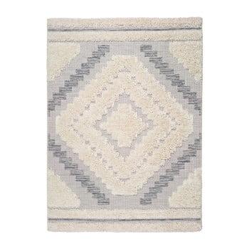 Covor Universal Cheroky Blanco, 155 x 230 cm, alb - gri imagine
