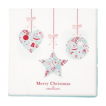 Set 20 șervețele din hârtie pentru Crăciun Green Gate Sandle bonami.ro