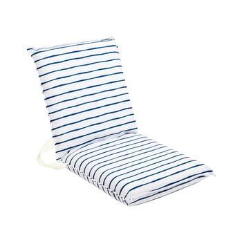 Pernă pentru scaun de grădină Sunnylife Nouveau Bleu, alb-albastru bonami.ro