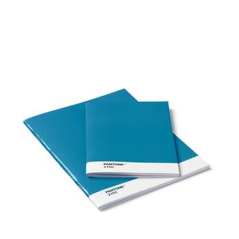 Set 2 caiete Pantone, albastru bonami.ro