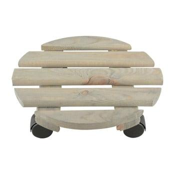 Suport din lemn de pin pentru ghiveci Ego Dekor, ⌀ 29 cm poza bonami.ro