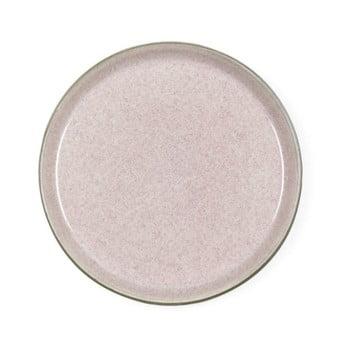 Farfurie din ceramică pentru desert Bitz Mensa, diametru 21 cm, roz pudră bonami.ro