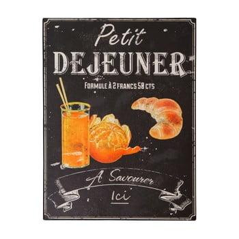 Tăbliță Antic Line Petit Déjeuner, 25 x 33 cm bonami.ro