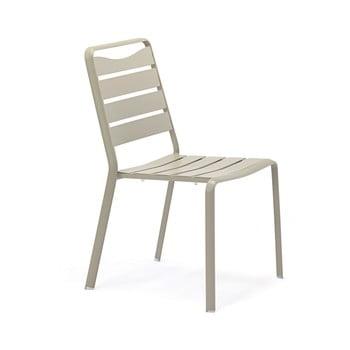 Set 4 scaune de grădină din aluminiu Ezeis Spring, gri imagine
