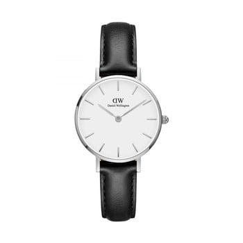 Ceas de damă Daniel Wellington Petite Sheffield, ⌀ 28 mm, alb-argintiu bonami.ro
