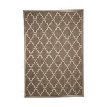 Covor adecvat pentru exterior Floorita Intreccio Natural, 200 x 290 cm, maro imagine