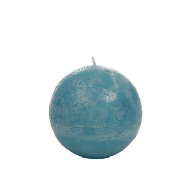 Lumânare J-Line Globe, albastru azuriu bonami.ro