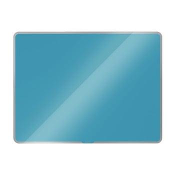 Tablă magnetică din sticlă Leitz Cosy, 80 x 60 cm, albastru