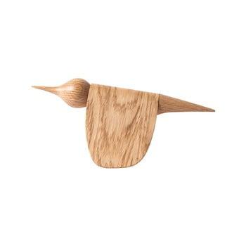 Statuetă din lemn de stejar în formă de pasăre Gazzda bonami.ro