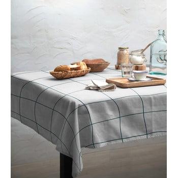 Față de masă Linen Couture Turquoise Lines, 140 x 140 cm bonami.ro
