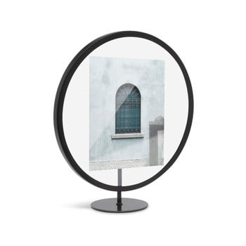 Suport foto Umbra Infinity, 12 x 18 cm, negru poza bonami.ro