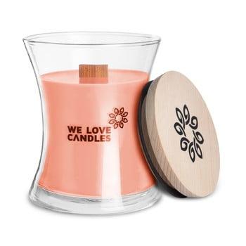 Lumânare din ceară de soia We Love Candles Rhubarb&Lily, durată de ardere 64 ore bonami.ro