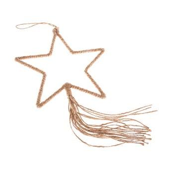 Decorațiune suspendată în formă de stea Dakls, lungime 35 cm bonami.ro