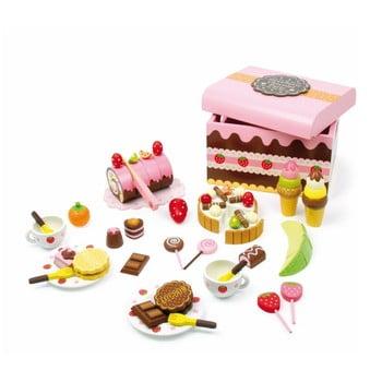Cutie plină cu dulciuri din lemn Legler Sweeties bonami.ro