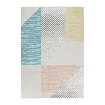 Covor Mint Rugs Madison, 200 x 290 cm, turcoaz - roz imagine