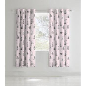 Set 2 draperii pentru camera copiilor Catherine Lansfield Woodland Friends, 168 x 183cm bonami.ro