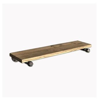 Set 3 rafturi din lemn pentru perete Pippe imagine
