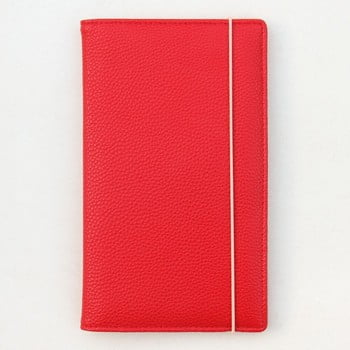 Suport pentru documente Caroline Gardner, roșu poza bonami.ro