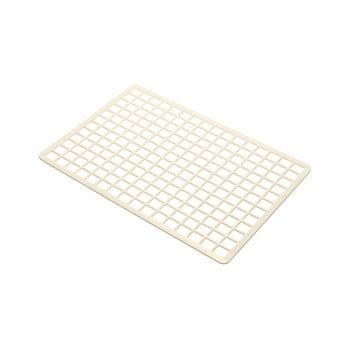 Protecție dreptunghiulară pentru chiuvetă, din plastic Addis, 36,5 x 24,5 cm, crem bonami.ro