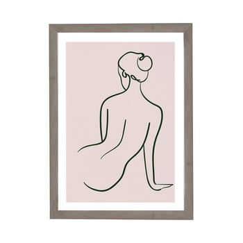 Tablou cu ramă pentru perete Surdic Woman Studies, 30 x 40 cm poza bonami.ro