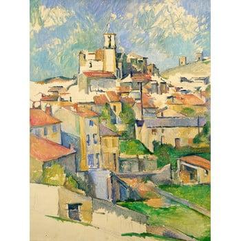 Reproducere tablou Paul Cézanne - Gardanne, 60 x 80 cm bonami.ro