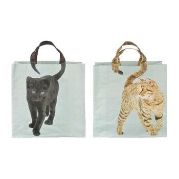 Set 2 sacoșe Esschert Design Cat poza bonami.ro