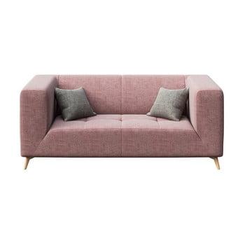 Canapea cu 2 locuri MESONICA Toro, roz imagine