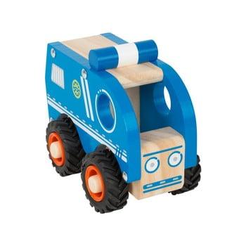 Mașinuță de poliție din lemn pentru copii Legler Police bonami.ro