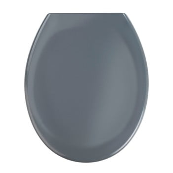 Capac WC Wenko Premium Ottana, 45,2 x 37,6 cm, gri închis poza bonami.ro
