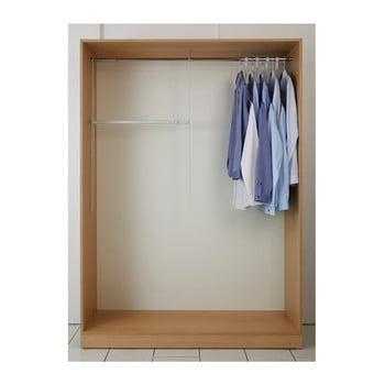 Set 2 scări și tijă extensibilă pentru haine Compactor bonami.ro