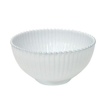 Bol pentru salată din gresie ceramică Costa Nova Pearl, ⌀ 27 cm, alb bonami.ro