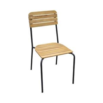 Set 4 scaune de grădină Ezeis Scool, natural imagine