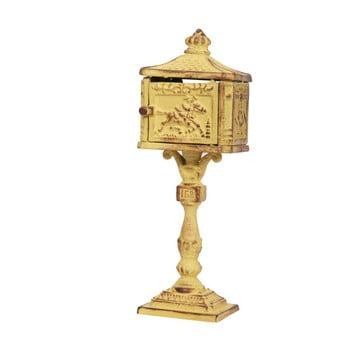 Cutie poştală cu picior Antic Line Letter, înălţime 24 cm bonami.ro