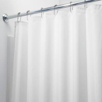 Perdea de duș iDesign, 200x180cm, alb bonami.ro