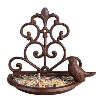 Hrănitor fontă pentru păsări Esschert Design, lățime 18,3 cm bonami.ro