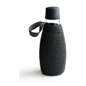 Husă pentru sticlă ReTap, 500 ml, negru poza bonami.ro