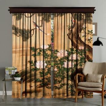 Set 2 draperii Curtain Palido, 140 x 260 cm poza bonami.ro
