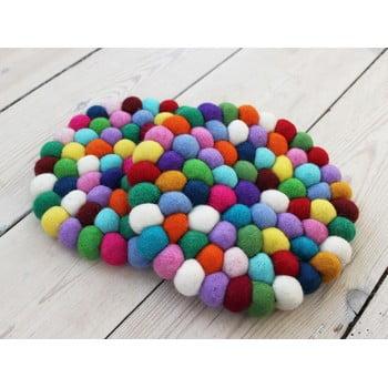 Suport pahar, cu bile din lână Wooldot Ball Coaster Multi, ⌀ 20 cm bonami.ro