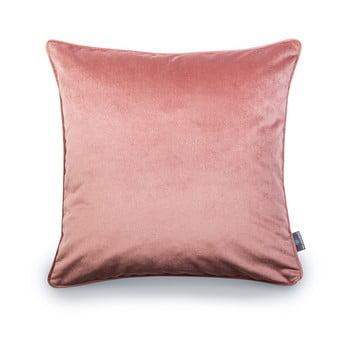 Față de pernă roz WeLoveBeds Heard Wood, 50 x 50 cm bonami.ro