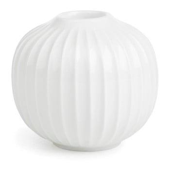 Sfeșnic din porțelan Kähler Design Hammershoi, alb, ⌀ 7,5 cm poza bonami.ro