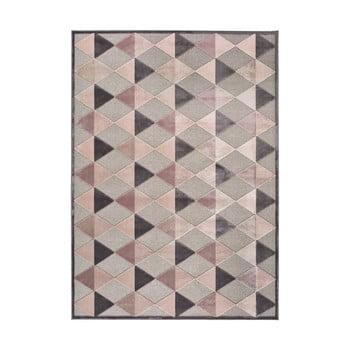 Covor Universal Farashe Triangle, 160 x 230 cm, gri-roz imagine