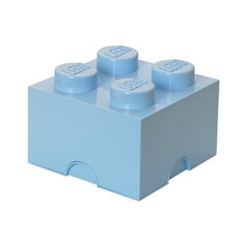 Cutie depozitare LEGO®, albastru deschis bonami.ro