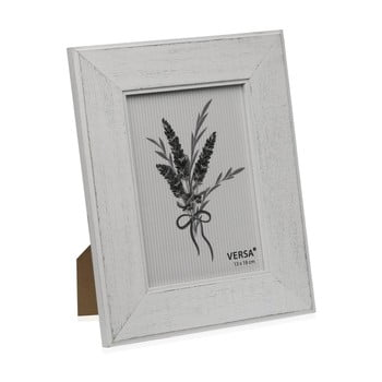 Ramă foto din lemn pentru fotografie Versa Madera Blanco, 13x18cm poza bonami.ro